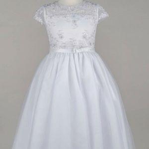 Girls Laura Marie Beaded Dress